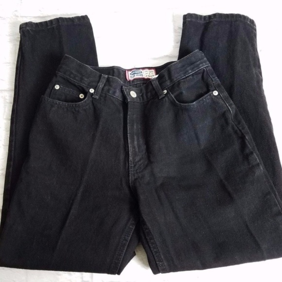 0ceb87e6ba Old Navy Jeans | Vintage 90s Mom Black Sz 4 Short | Poshmark